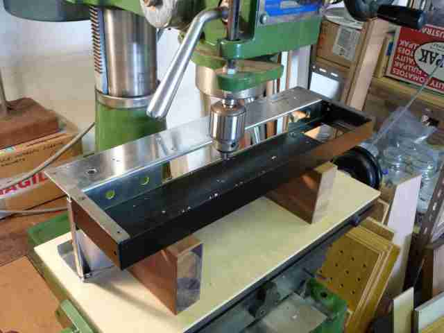 AC30BM chassis drilling #2
