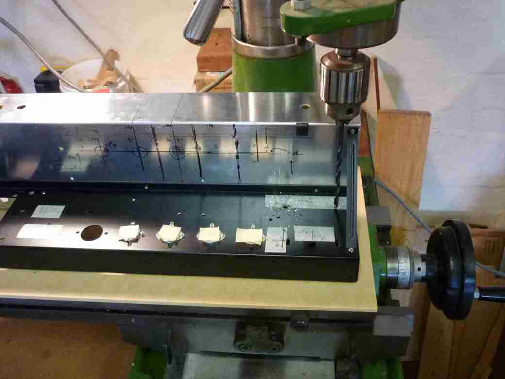 AC30BM chassis drilling #5