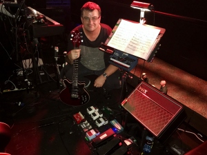 James Barber and WWRY Australia guitar rig