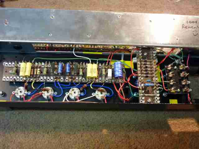 AC30BM power amp and rectification section #1