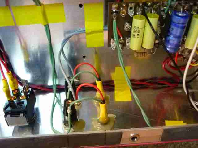 AC30BM EL84 cathode fusing and standby switch