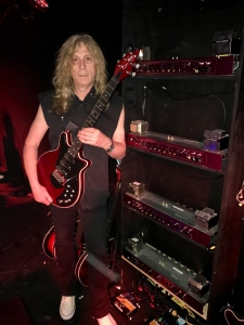 Simon Croft and WWRY Australia guitar rig