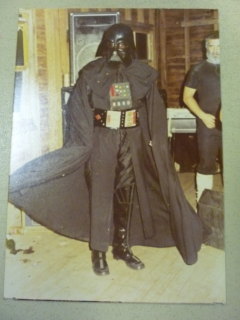 Karl Darth Seglins in another incarnation of Rommo's band