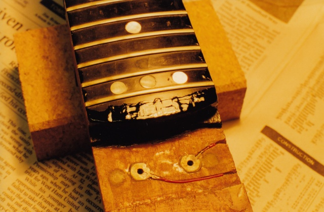 24th fret fingerboard painting