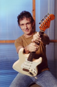 Ian Moss with 1989 Fryer guitar