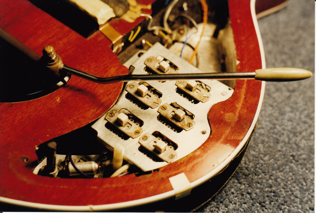 Red Special body and switchplate #2 9th Jan 1998