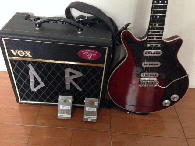 Danny Rodd Burns Red Special 2005, TB Super, TB Deluxe 2014