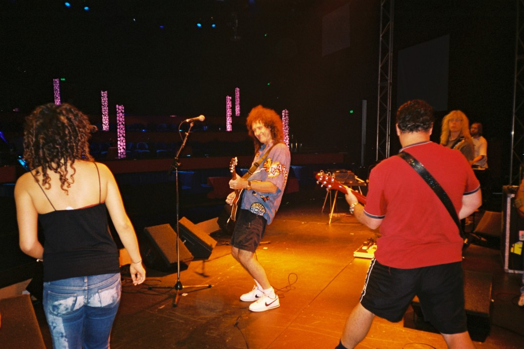Brian rocking out at WWRY Sydney - these were good fun days!