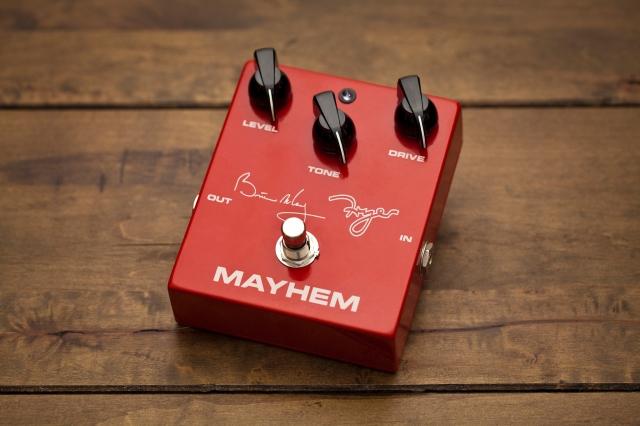 Brian May Fryer Mayhem; pic by Luke Holwerda