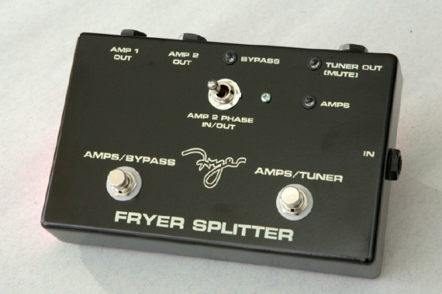 Fryer Splitter, designed for the WWRY shows guitar line