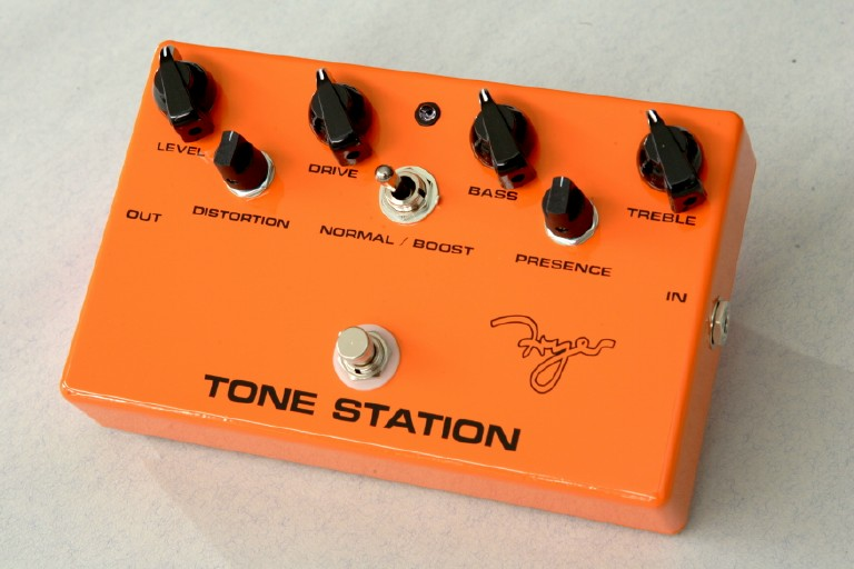 Fryer Tone Station, designed for the WWRY shows guitar line