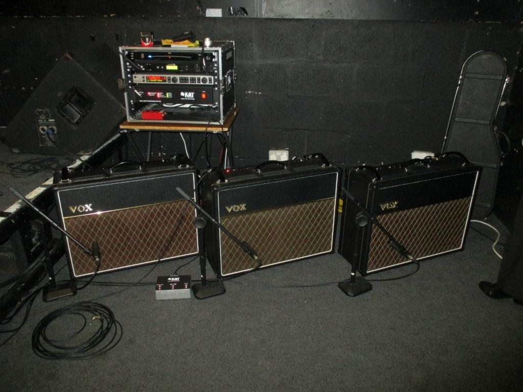 Luke Timmins Vox AC30s