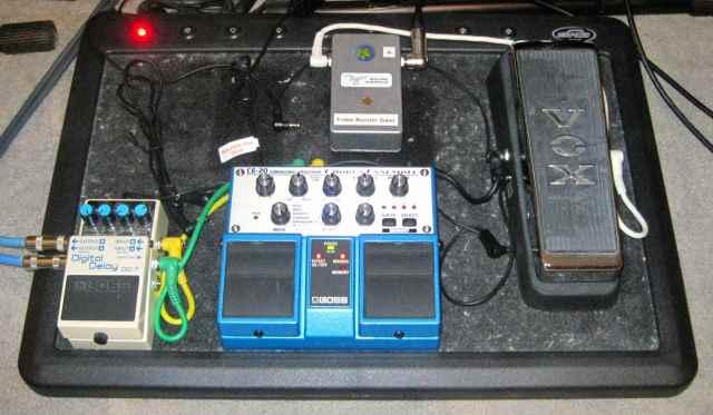 Stefan's pedalboard