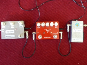Extra Boost-Drive pedal, Mayday and TB Super WWRY Australia