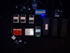 WWRY Australia James Barber guitar rig