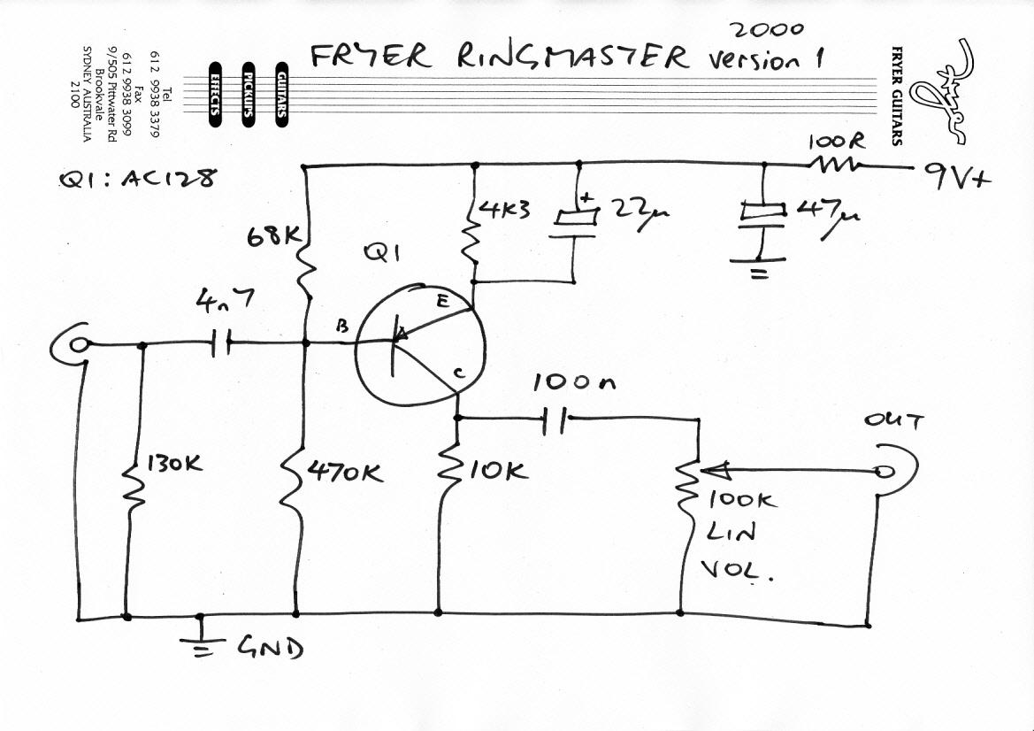 Fryer Ringmaster 2000