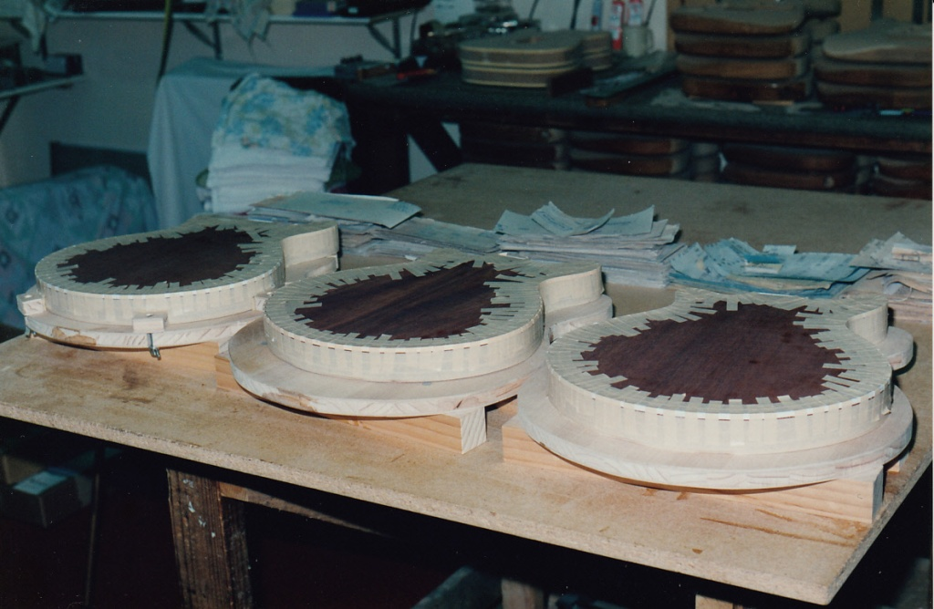 Binding being glued on all 3 bodies