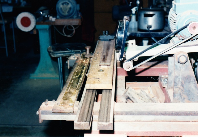 Chris Kinman fret slotting machine #1
