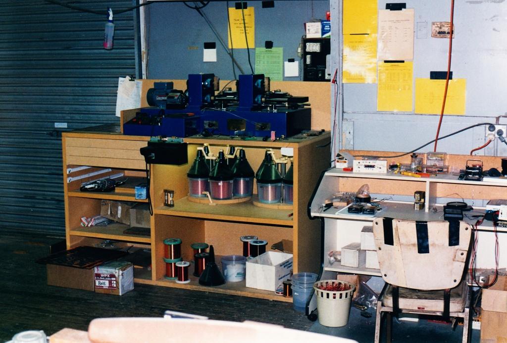 Chris Kinman pickup winders Nov 1996 Brisbane