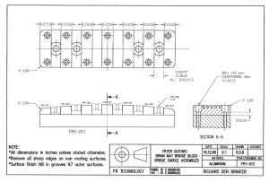 Fryer BM Bridge drawing FRY-012