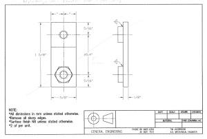 Fryer BM Trem bolts backing plate version 1