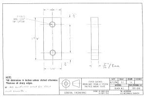 Fryer BM Trem bolts backing plate version 2