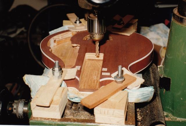 John neck pocket milling