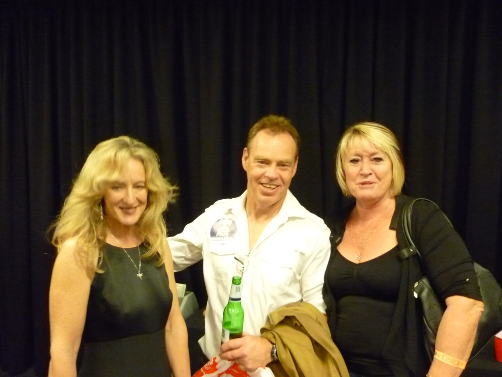 MB, Gerg and Kaz at after show party