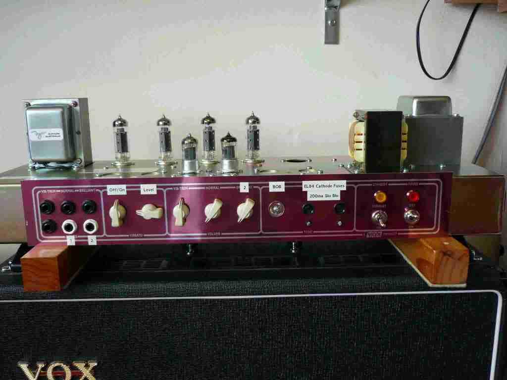 BM AC30 head testing