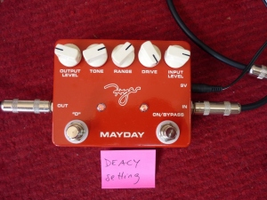 Deacy Amp sound setting with left footswitch engaged