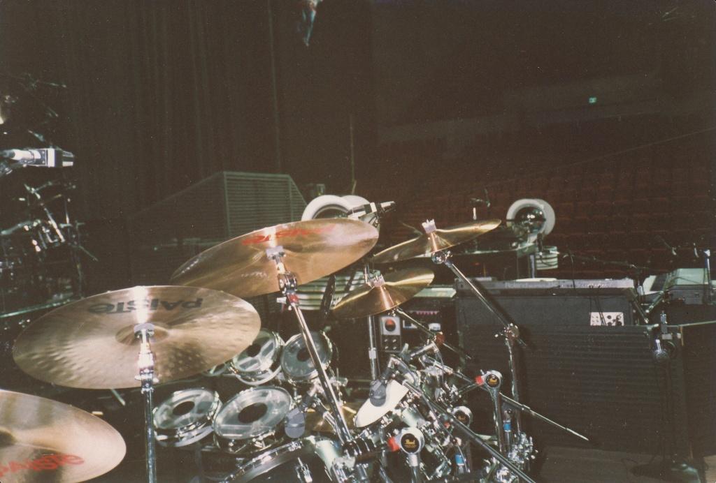 Nick's drums