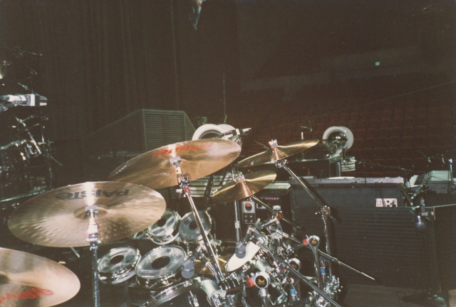 Nick's drums
