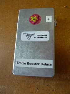 2015 Treble Booster Deluxe handmade